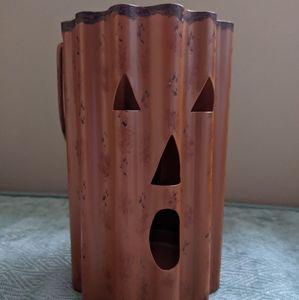 Halloween Spooky Pumpkin Candle Holder